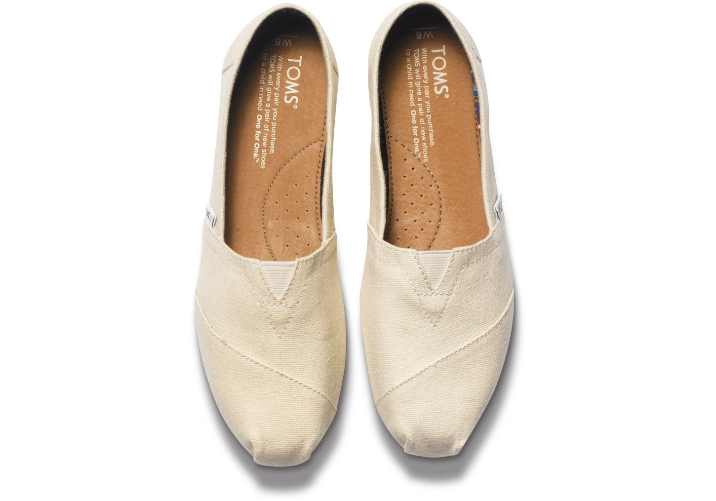 1fb2fbf0bf852 Buy Natural Canvas Women s Classic Toms Online