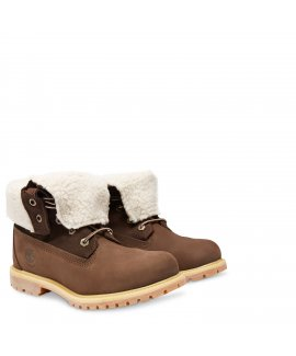 Women's Earthkeepers Timberland Authentics Teddy Fleece Waterproof Fold-Down
