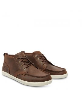 Newmarket Fulk Chukka Mock Toe Leather