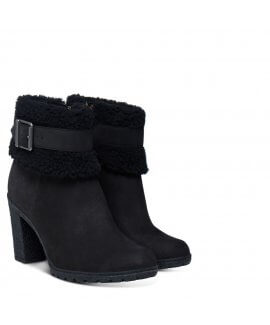 Glancy High Heeled Teddy Boots