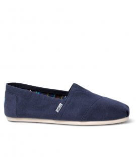 Navy Canvas Men's Classic