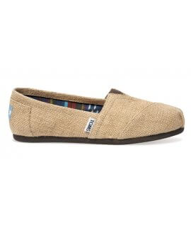 Natural Burlap Men's Classics